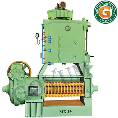 medium scale copra oil press machine