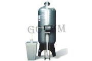 boiler with water softening plant