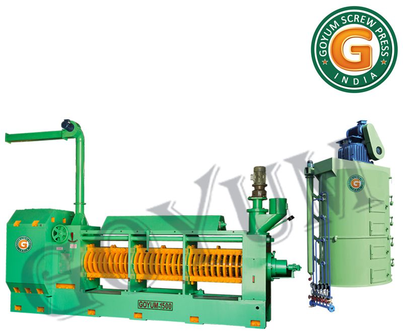 GOYUM 1500 Large Soybean Oil Press