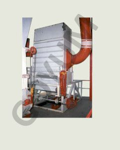 vertical pellet coller