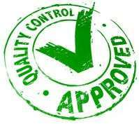 Qulity Control Approved