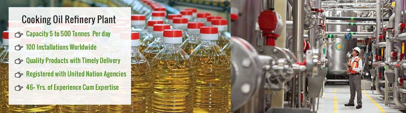 vegetable oil extraction plant manufacturers exporters India